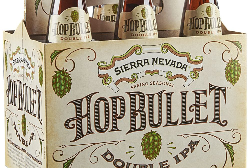 Sierra Nevada's Hop Bullet a bitter, aggressive brew with a kick