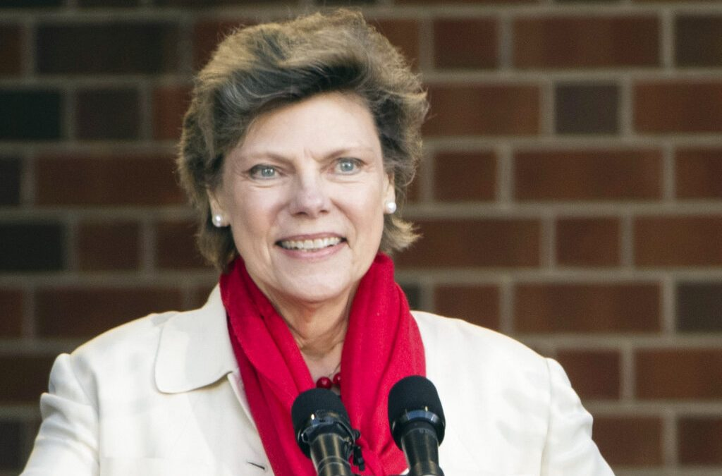The late Cokie Roberts spoke at Misericordia in 2003