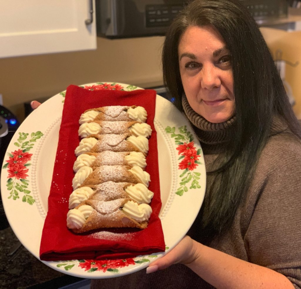 GIA MAZUR / STAFF PHOTO Throop resident Andrea Pizzo Gonzalez is this week's Local Flavor: Recipes We Love contest winner thanks to her Sicilian Cannoli recipe.