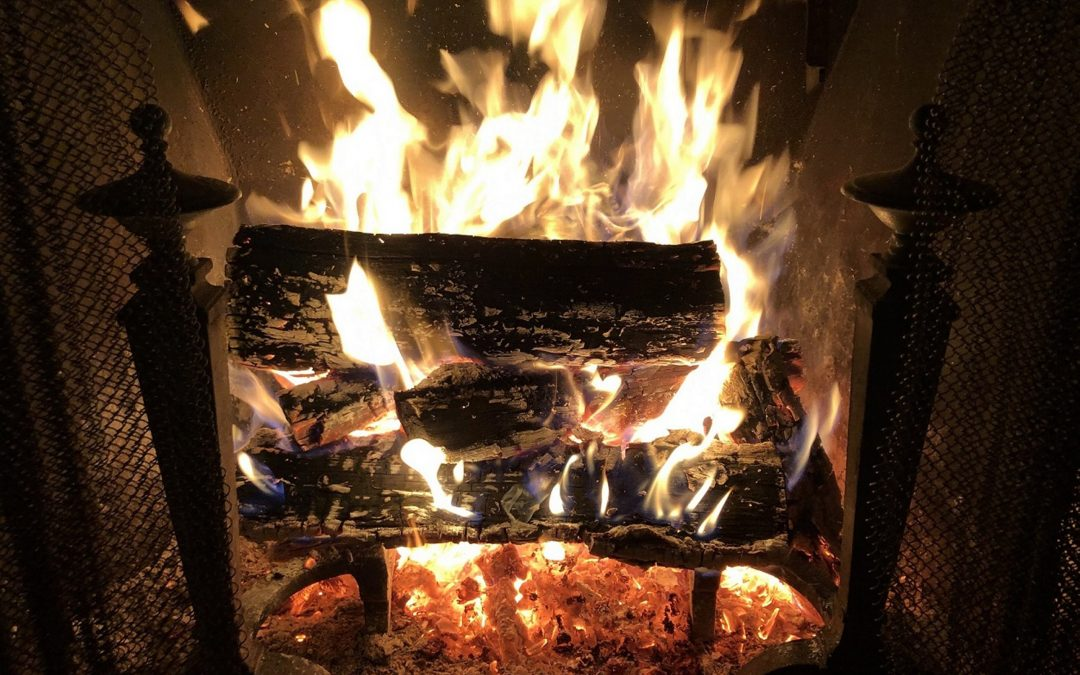 Find warmth and ambience in nature's renewable heat source