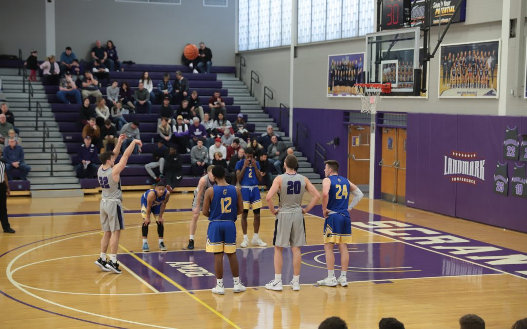 Out&About at the University of Scranton basketball game