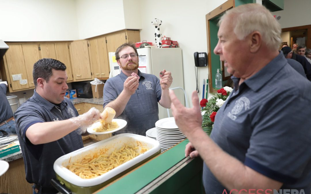 Out&About at Dalton Fire Company pasta dinner