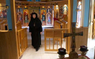 Fearing isolation? Byzantine nun offers advice from life in cloister