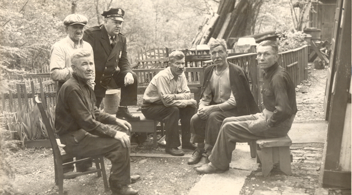 group of men