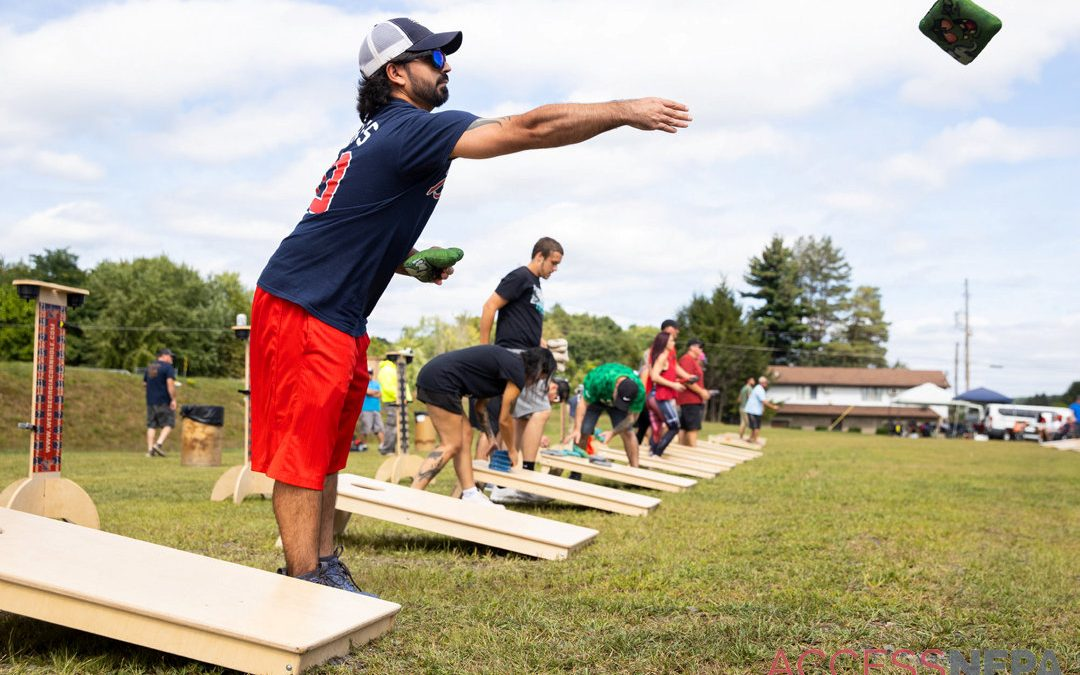 Out & About – Cornhole Tournament at William Walker Hose Company