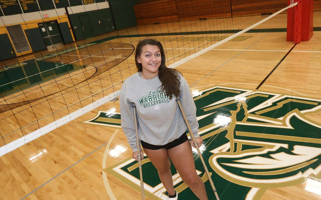 Wyoming Area's oft-injured Lombardo as tough as it gets