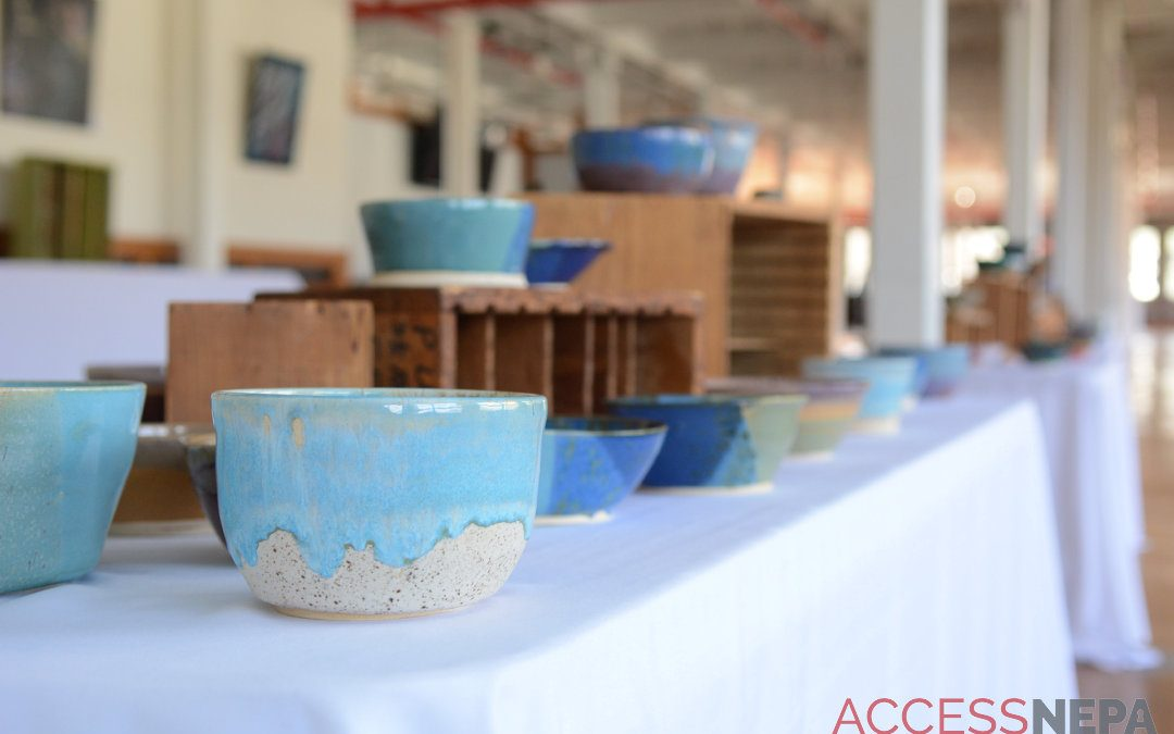 Local artists churn out bowls for Super Bowl weekend