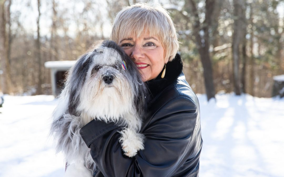 Widow finds another adventure in sharing dog's story